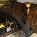 Kokosnøtt skaper lun stemning i trapperom