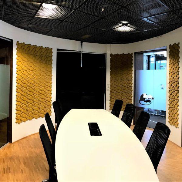 Moderne 3d fliser på kontor