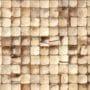 Lekre interiørfliser i kokosnøtt