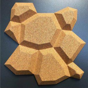 Lekre korkfliser i 3D design