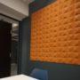 3D korkfliser som forbedrer akustikken på møterom