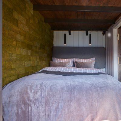 grønn kork vegg vist på eventyrlig oppussing
