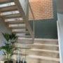 Lekre akustikk fliser i kork i trapp