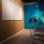 Lekre kork fliser kombinert med whiteboard på kontor