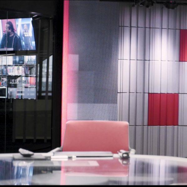 Lyddempende akustikkpanel hos TV2