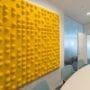 Lekre 3D veggpanel med lyddemping