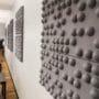 Lydpanel hos blindeforbundet med stilig 3D design