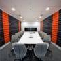 Lydplater på kontor i stilig 3D design