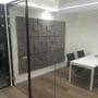Soundtect lydpanel på kontorvegg