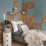 Kokosnøtt veggfliser