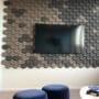 Dekorative 3d kork fliser