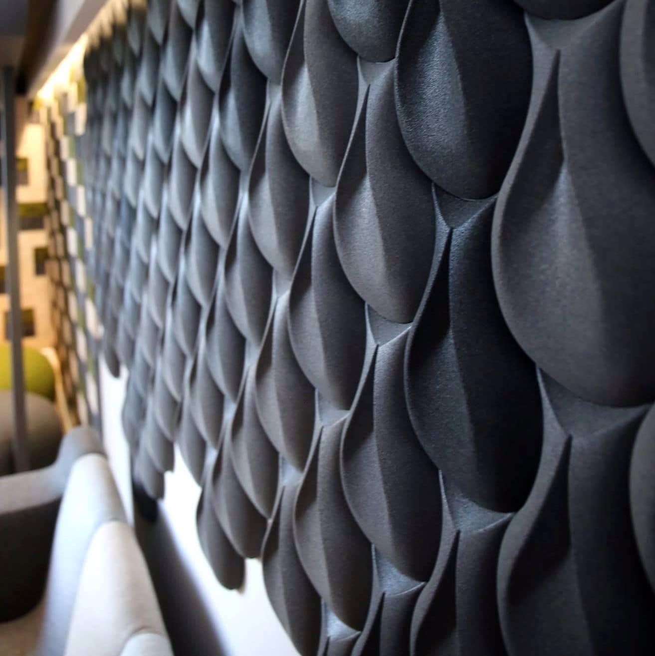 kork vegg i 3d design