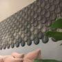 dekorative korkfliser som ligner på vanndråper