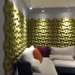 Kork veggen senses i stue