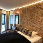 Fliser i kokosnøtt natur på Kristiansand Hotell