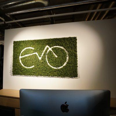 Mose logo hos Evo Elsykler på Skøyen