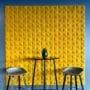 Elegante kork fliser i stuen til Villa Tromsø