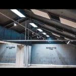 Lyddempende produkter fra WALL-IT i taket hos dansestudioet Quickstyle