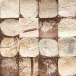 Mosaikk fliser som veggdekor