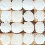 Mosaikkfliser i kokosnøtt