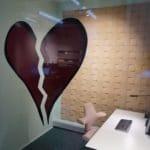 kork vegg på møterom hos Senab Eikeland i Trondheim