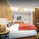 kokosnøtt vegg som sengegavl