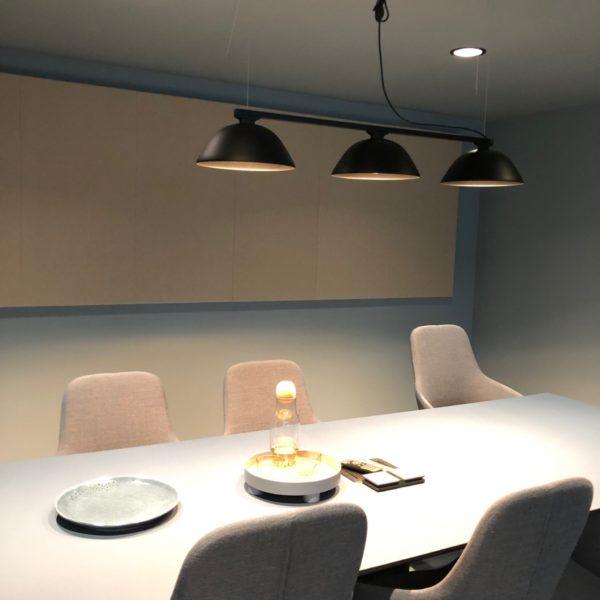 A-klasse lyddempende panel på møterommet til Cibes