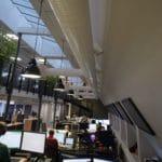 Tekstille akustikkpanel hos Payex i Oslo