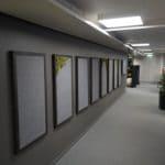 Oppslagtavle og akustikkpanel hos Payex