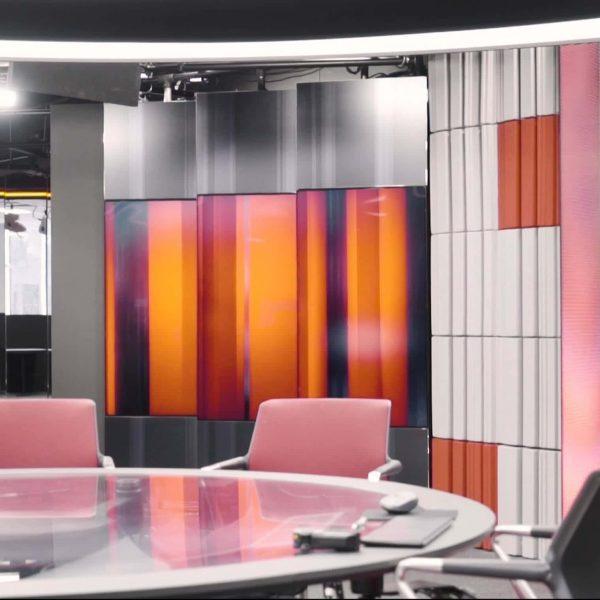 Akustikk fliser hos TV2