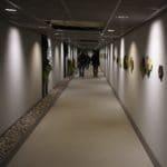 Korridoren på Rosenholm Campus