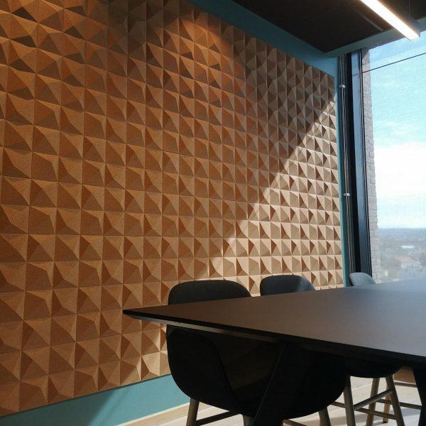 Nydelig kontor med korkflisene peak på barcode i Oslo