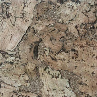 Nydelige kork fliser med overflate av bark