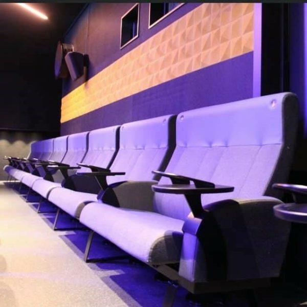 Geilo kino dekorert med 3D korkfliser