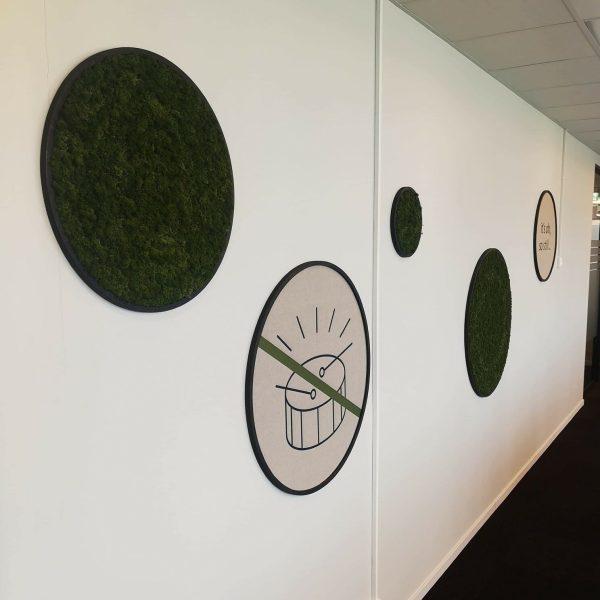 mose sirkler og tek:STILLE sirkler på kontoret hos Sopra Steria